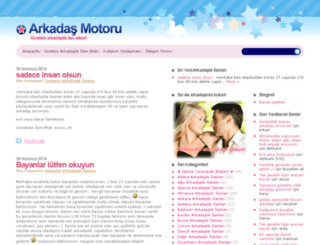 arkadasmotoru.com screenshot