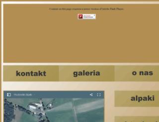 arkadia-alpakas.pl screenshot