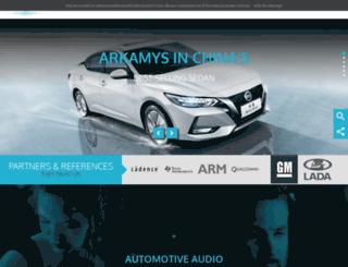 arkamys.com screenshot