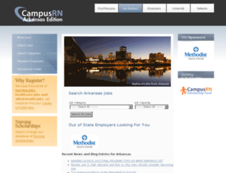 arkansas.campusrn.com screenshot