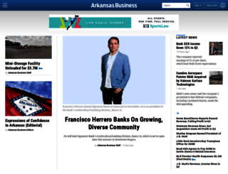 arkansasbusiness.com screenshot
