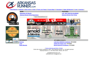 arkansasrunner.com screenshot