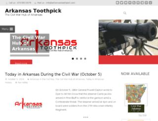arkansastoothpick.com screenshot