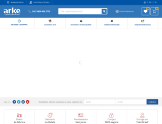 arke.com.br screenshot