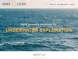 arkeocean.com screenshot