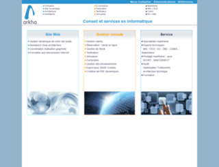 arkha.com screenshot