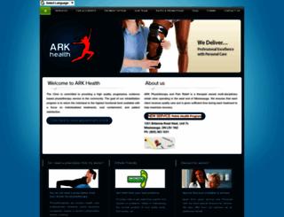arkhealth.ca screenshot