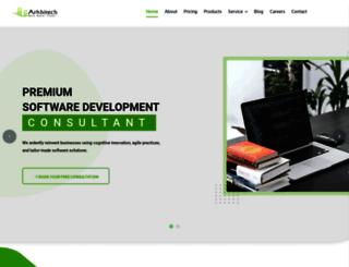 arkhitech.com screenshot