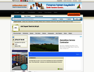 arkinsaattaahticltdsti.rehberalem.com screenshot