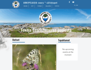arkipelagia.fi screenshot