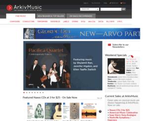 arkivmusic.eu screenshot