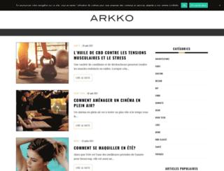 arkko.fr screenshot