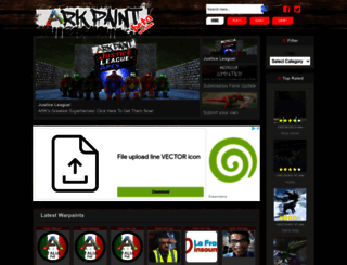 arkpaint.com screenshot
