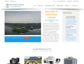 arkpowerltd.com.bd screenshot