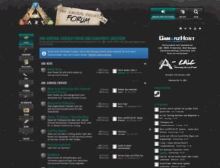 arksurvivalevolved.de screenshot
