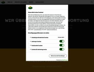 arlafoods.de screenshot