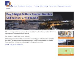 arlgroup.co.uk screenshot