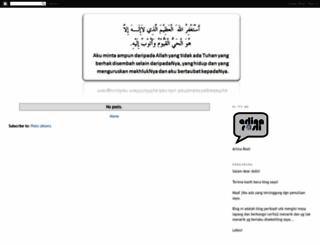 arlinarosli.blogspot.com screenshot