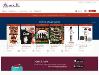 arlingtontx.libraryreserve.com screenshot
