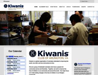 arlingtonvakiwanis.com screenshot