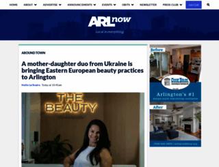 arlnow.com screenshot