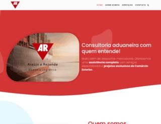 arlogistica.com.br screenshot