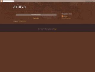 arluva.blogspot.com screenshot