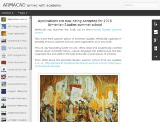 armacad.blogspot.com screenshot