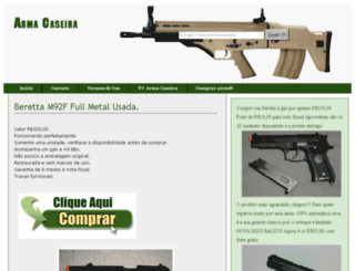 armacaseira.net screenshot
