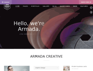 armada.dream-demo.com screenshot