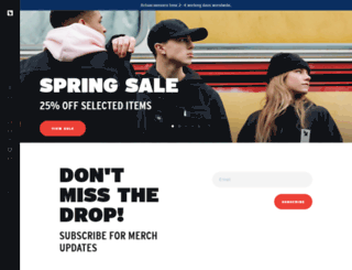 armadamusicshop.com screenshot
