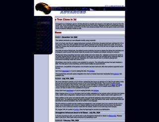 armagetronad.org screenshot