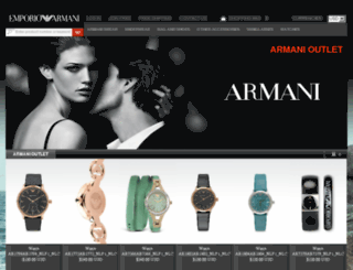 armanionlineoutlet.org screenshot