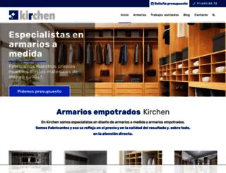 armariosempotrados.net screenshot