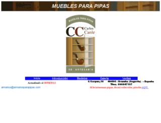 armariosparapipas.com screenshot