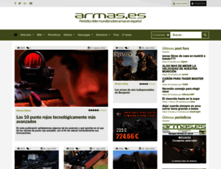 armas.es screenshot