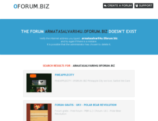 armatasalvarii4u.0forum.biz screenshot