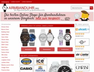 armbanduhr.org screenshot