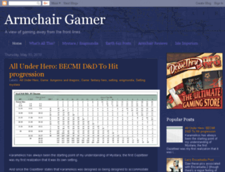armchairgamer.blogspot.com screenshot