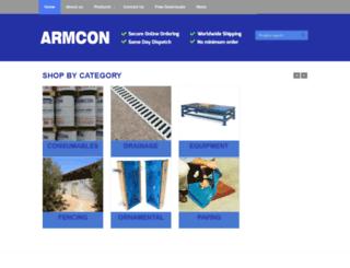 armcon-online.com screenshot
