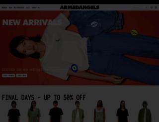 armedangels.de screenshot