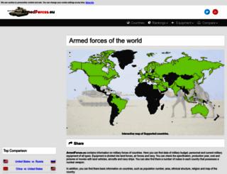 armedforces.eu screenshot