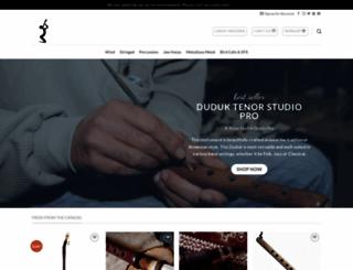 armenianinstruments.com screenshot
