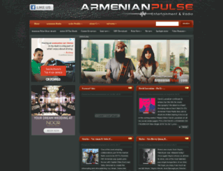 armenianpulse.com screenshot