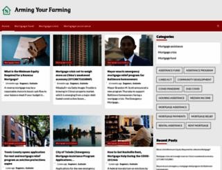 armingyourfarming.com screenshot