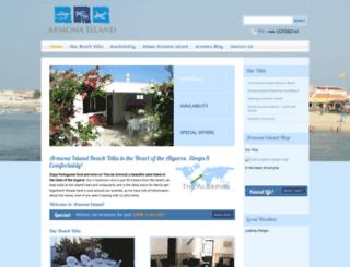 armonaisland.co.uk screenshot