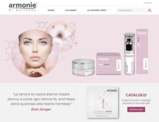 armoniedibellezza.com screenshot