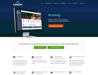 armony.com.ng screenshot