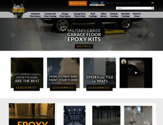 armorgarage.com screenshot