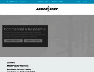 armorpoxy.com screenshot